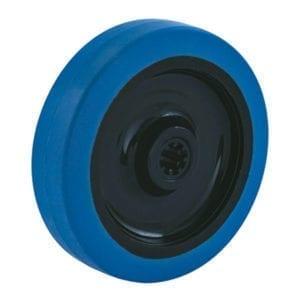 Rubber blauw
